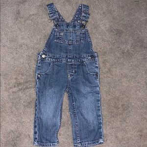 Girls Jean Overalls 12m